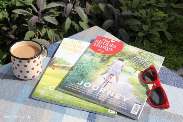 lifestyle inspiration - share serenity reading magazines tea-2