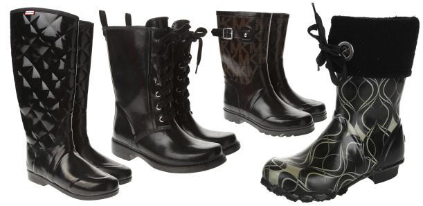 black-vintage-wellies-michael-kors-hunter-retro-winter-autumn-waterproof-boots-fashion-tuesday-shoesday