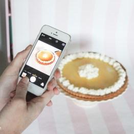 Zesty Lemon Tart & DIY Bakestation
