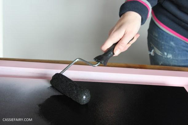 kitchen DIY furniture Makeover project bake station - storage cooking baking tutorial-6