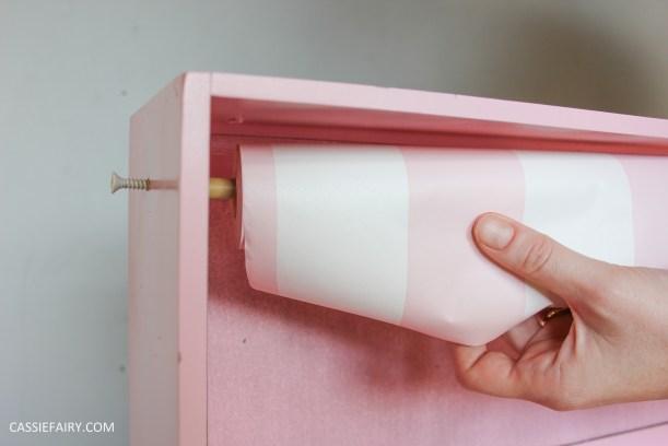 kitchen DIY furniture Makeover project bake station - storage cooking baking tutorial-8