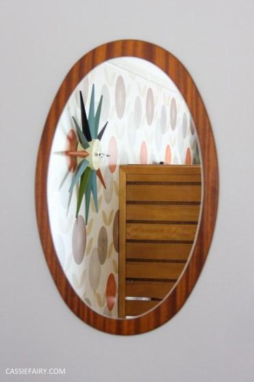 mid century modern interior design starburst clock-11