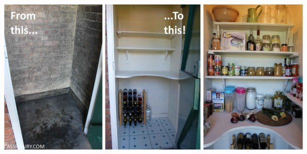 Whitehaven Pantry Redo And Inspiration: Kitchen Storage Ideas & My Pantry Makeover