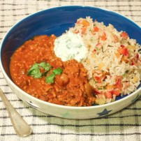 Spiced Lamb & Jewelled Brown Rice