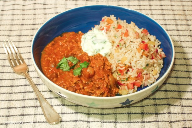 pieday friday recipe for moroccan lamb and jewelled brown rice with vegetables-11