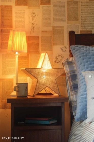 winter interior design - cosy autumn bedroom styling idea inspiration-5