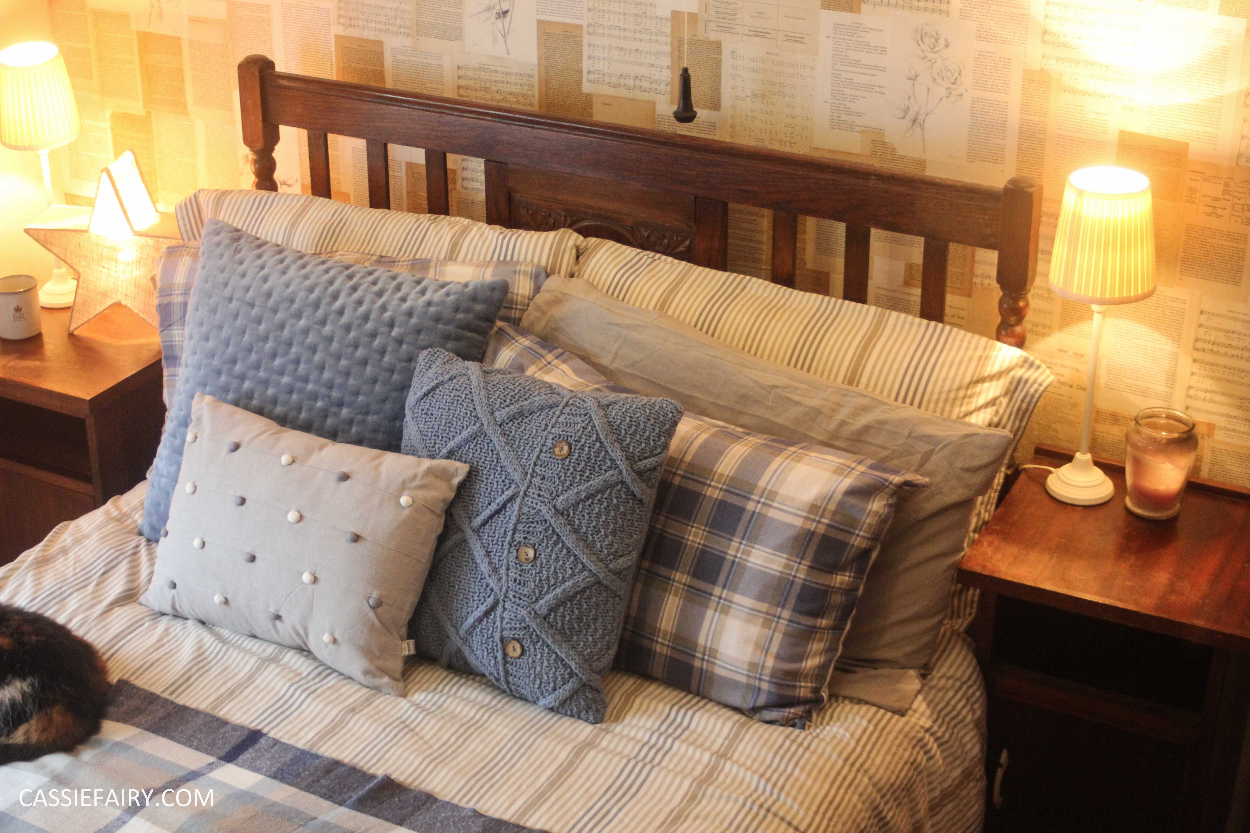 The solution is low cost making use of soft furnishings you already have at home and creates a snuggly bed that you wont want to leave all winter