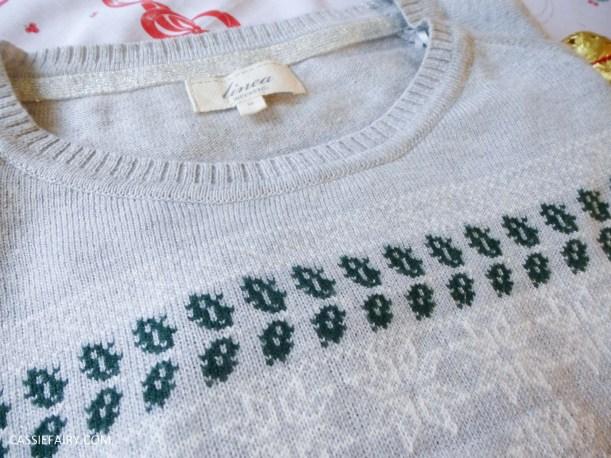 christmas jumper festive gift inspiration shirt text santa-7