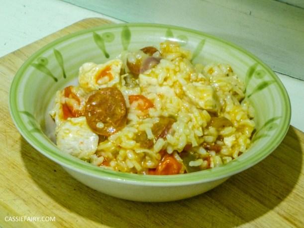 pieday friday baked spanish chicken and chorizo risotto recipe-6