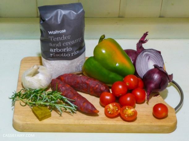 pieday friday baked spanish chicken and chorizo risotto recipe