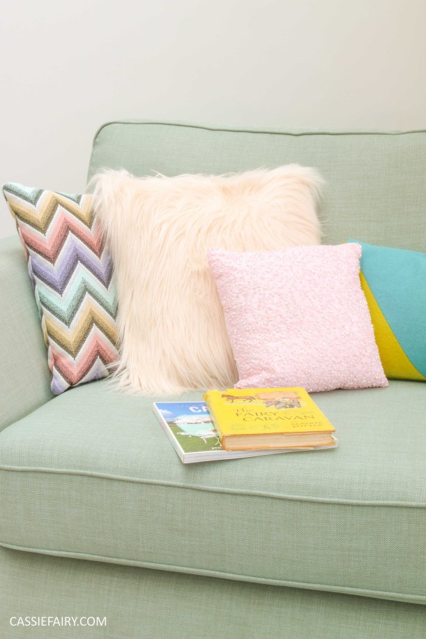 DFS candy colours interior design inspiration for spring summer 2016 cushions 4