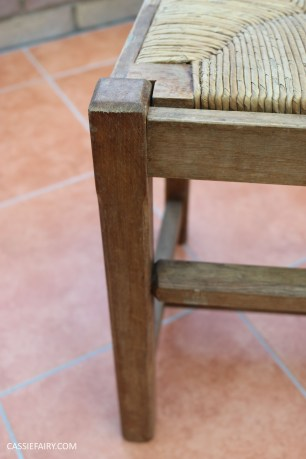 Furniture Makeover Project Rust-Oleum paint retro conservatory chair_-2