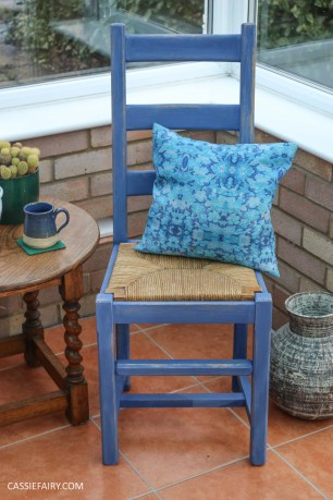 Furniture Makeover Project Rust-Oleum paint retro conservatory chair_-26