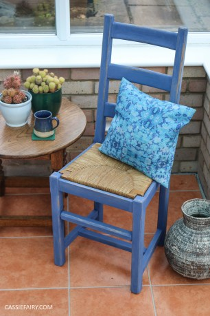 Furniture Makeover Project Rust-Oleum paint retro conservatory chair_-27