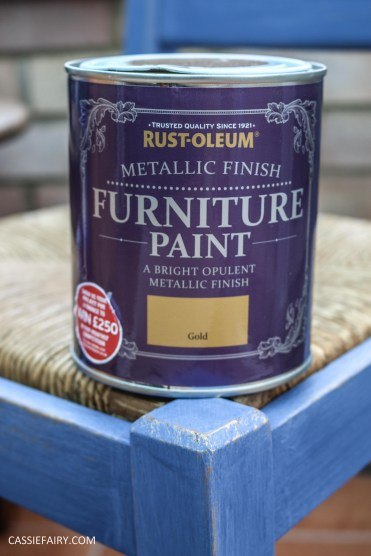 Furniture Makeover Project Rust-Oleum paint retro conservatory chair_-37
