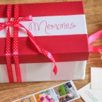 DIY Valentine's gift – A box of memories + polaroid photos