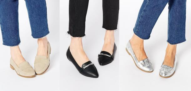 asos shoes tuesday shoesday flat loafers low cost budget sale clearance