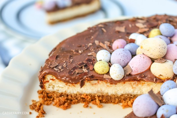 easter baked chocolate cheese cake recipe primula 1
