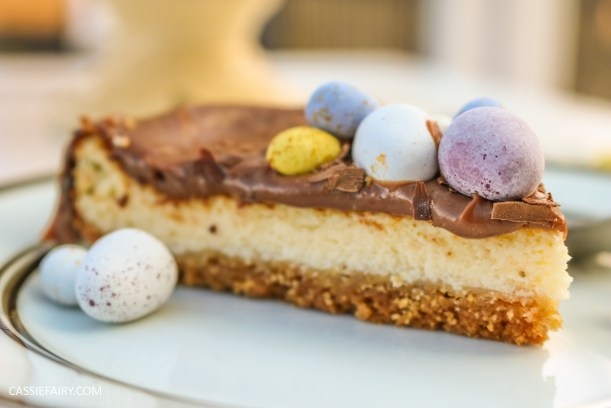 easter baked chocolate cheese cake recipe