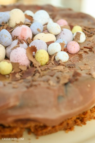 easter eggs baked chocolate cheesecake recipe-8