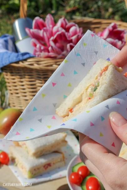 picnic inspiration sandwich recipe ideas easter summer spring-9