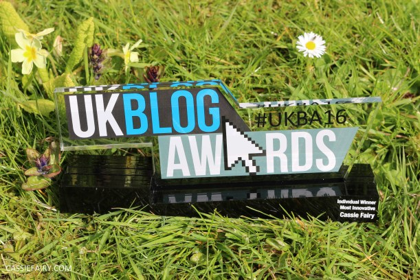 uk blog award winner 2016 most innovative cassiefairy
