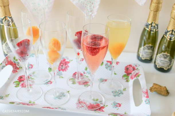 wedding hen party queens birthday celebration idea diy fruit puree ice cubes recipe-20