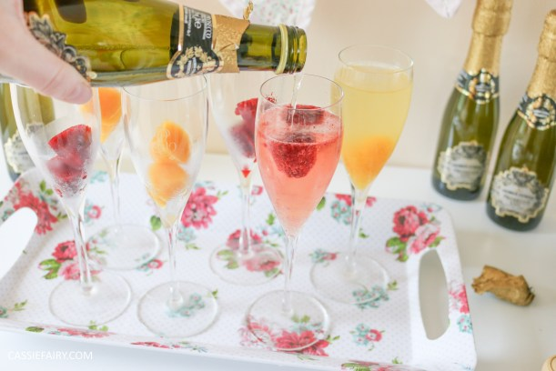 wedding hen party queens birthday celebration idea diy fruit puree ice cubes recipe-21
