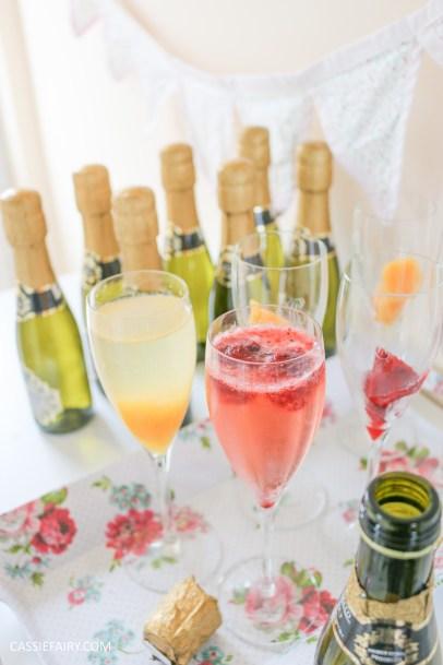 wedding hen party queens birthday celebration idea diy fruit puree ice cubes recipe-25