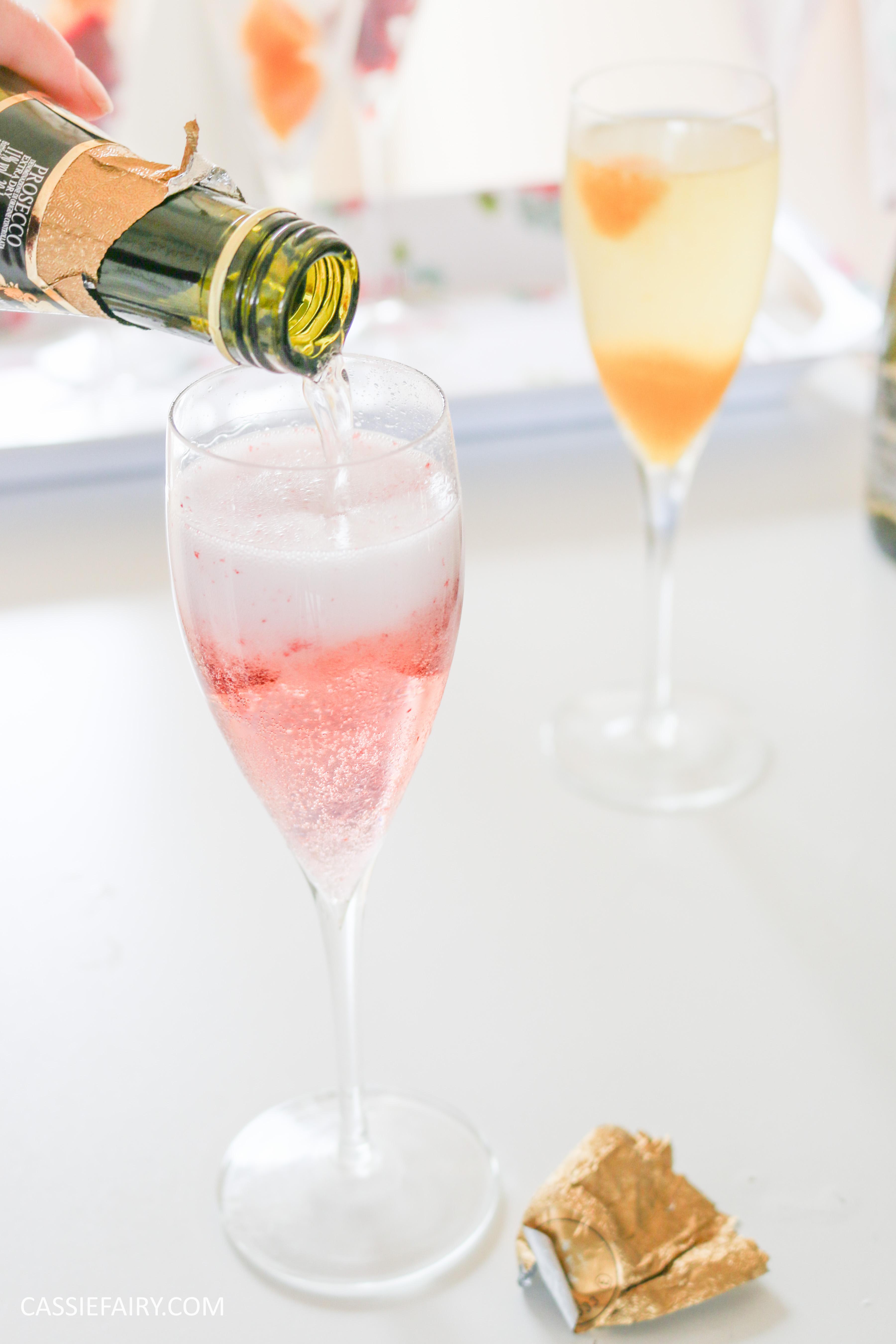 wedding hen party queens birthday celebration idea diy fruit puree ice cubes recipe-41