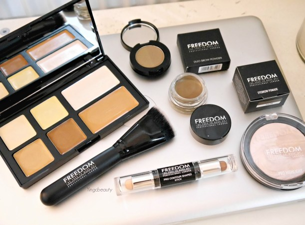 Freedom makeup cruelty free collection