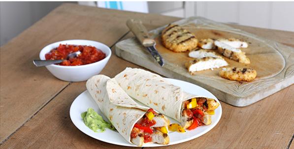 chicken fajita wraps frozen food meal thrifty money saving