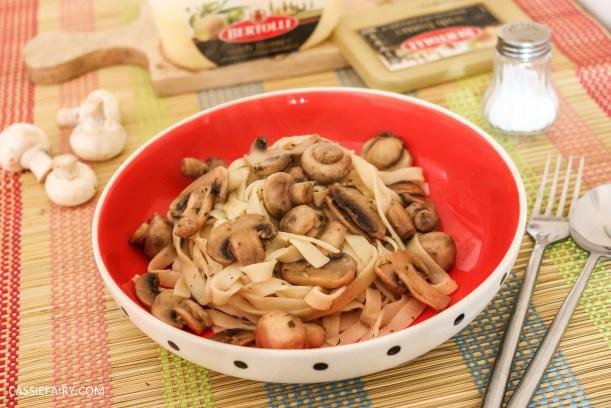 gennaro contaldo garlic mushroom tagliatelle recipe-2