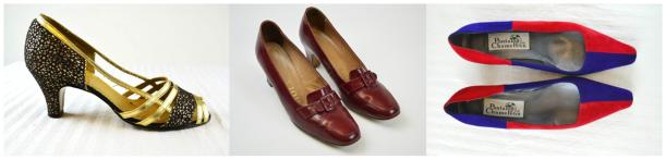 retro vintage 80s 1980s court shoes footwear heels tuesday shoesday