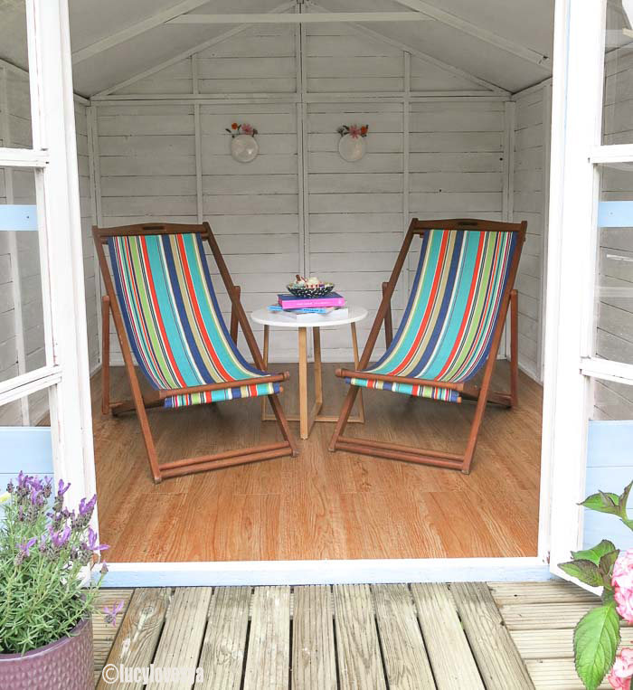 Garden inspiration – Beach hut sheds |