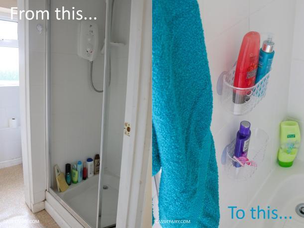 budget bathroom mini makeover holiday summer beach diy project