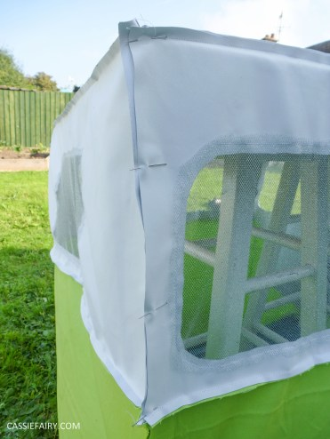 caravan campervan playhouse playroom den wendyhouse sewing project diy step by step tutorial_-5