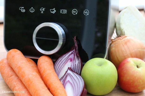 homemade summer coleslaw panasonic food processor bbq dish-3