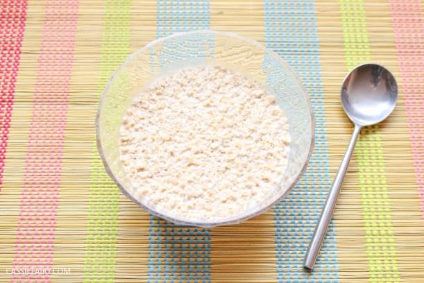 sunday brunch breakfast soasked oats fruit seeds healthy recipe