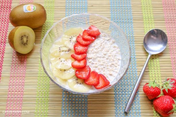 sunday brunch breakfast soasked oats fruit seeds healthy recipe-3