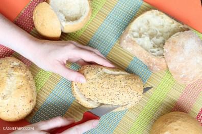layered picnic rolls recipe mediterranean sandwich friyay