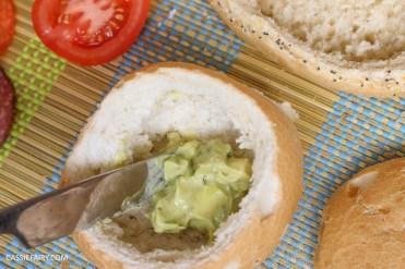 layered picnic rolls recipe tex mex spicy sandwich filling friyay