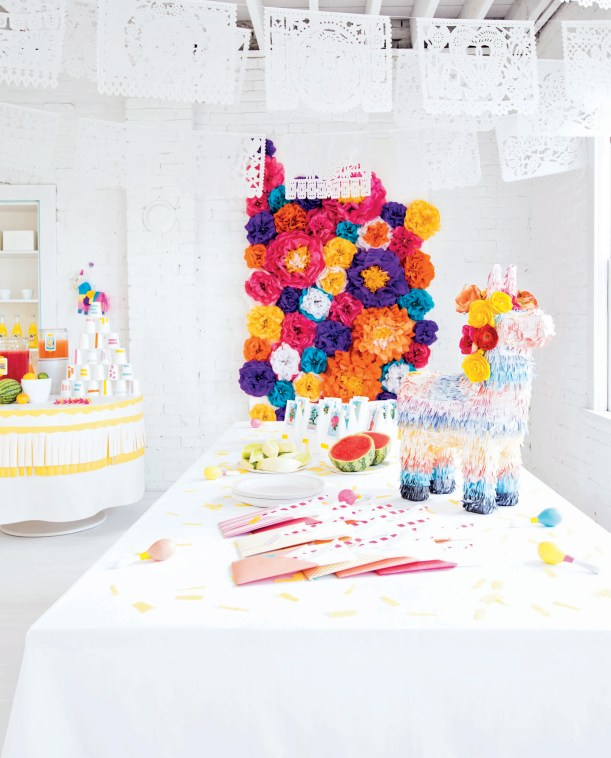 Decorate for A Party, p105, photography by Leslie Shewring