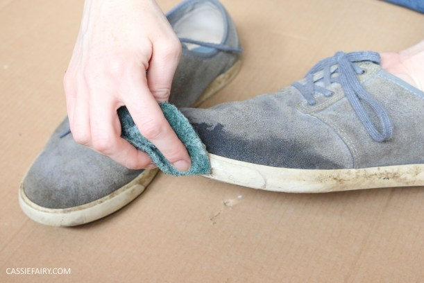 renovate-old-suede-shoes-trainers-makeover-diy-customising-dying-shoes-tutorial-video-3