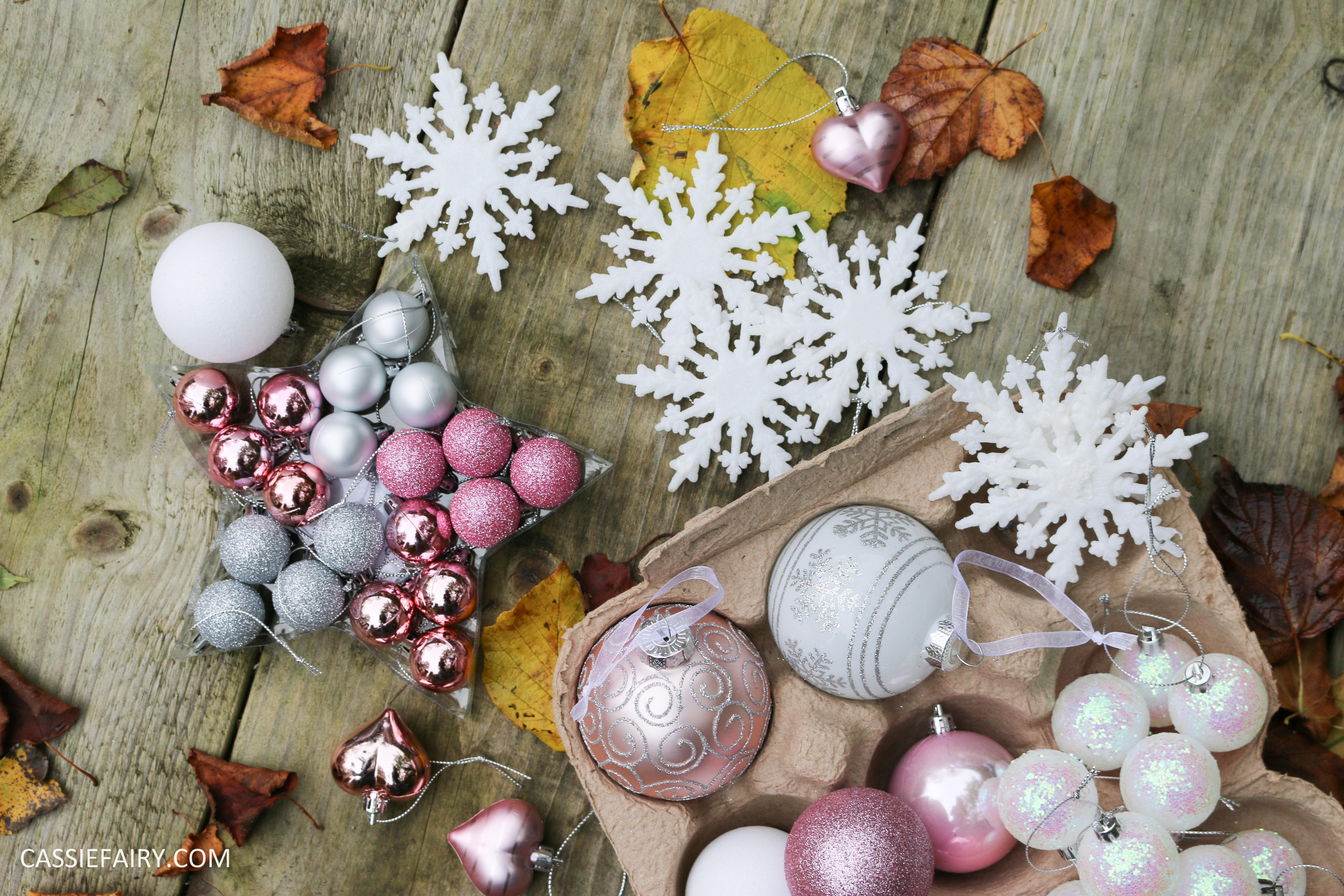 Christmas Decorations Theme my new christmas decorations theme – blush pink & oodles of glitter |