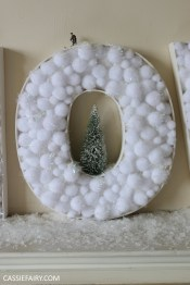 cassiefairy-thrifty-christmas-snow-sign-project-diy-mantlepiece-christmas-decoration-festive-decor-20