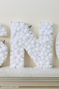 cassiefairy-thrifty-christmas-snow-sign-project-diy-mantlepiece-christmas-decoration-festive-decor-26
