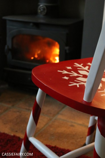 diy-video-youtube-tutorial-christmas-decor-decoration-festive-candy-cane-chair-step-by-step-project-spray-painting-guide-10