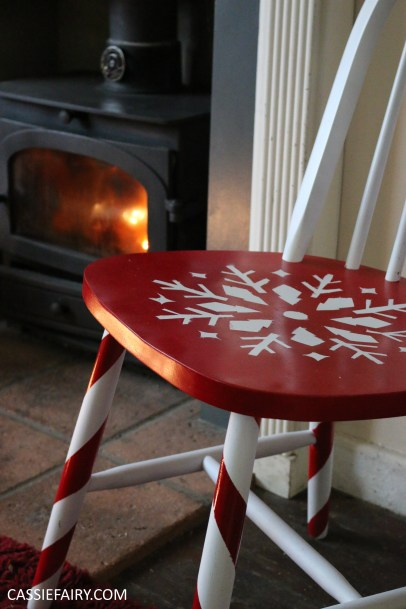 diy-video-youtube-tutorial-christmas-decor-decoration-festive-candy-cane-chair-step-by-step-project-spray-painting-guide-8