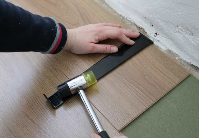 Household DIY - How to install laminate flooring